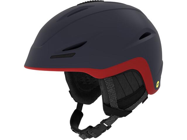 Giro Union MIPS Casque de ski, mat midnight-dark red sierra
